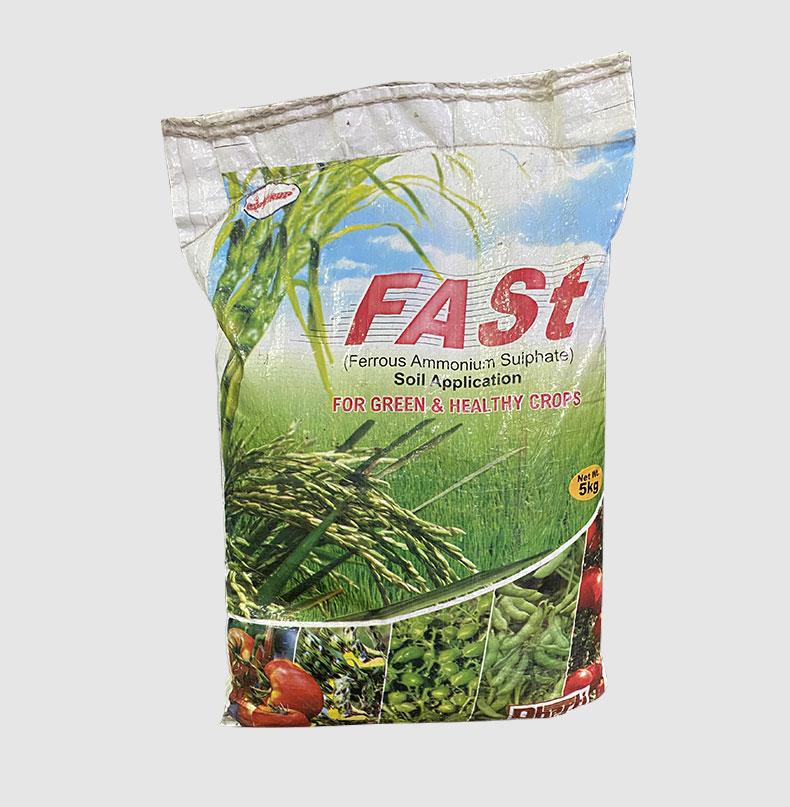 FASt(Ferrous Ammonium Sulphate)