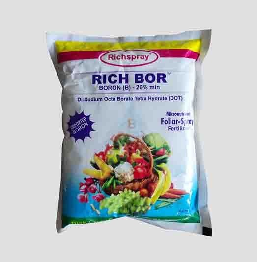 Rich Bor Boron (B) 20% min