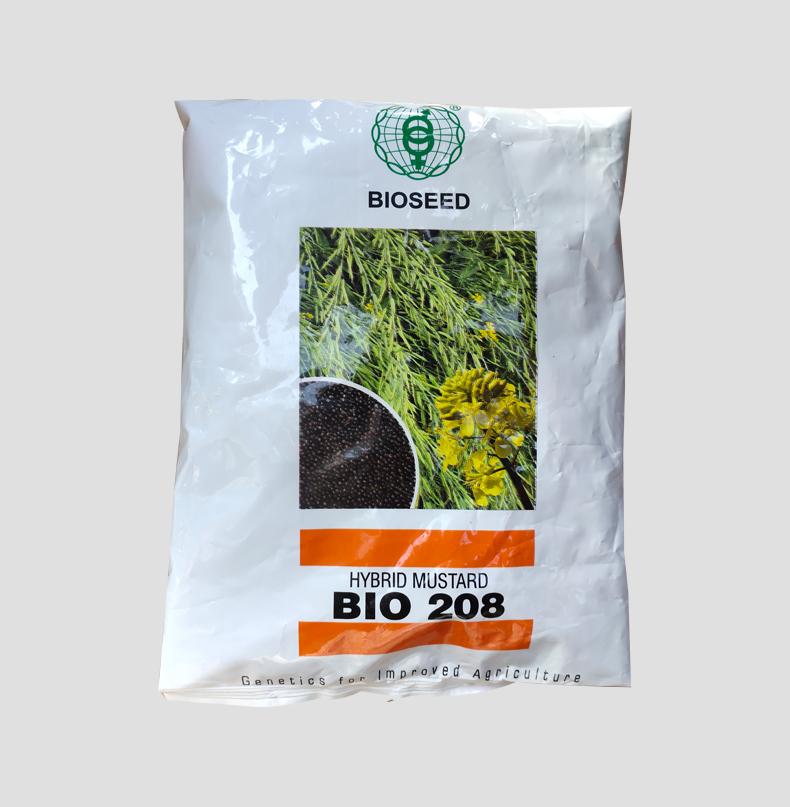BIO 208 Hybride Black Mustard Seed