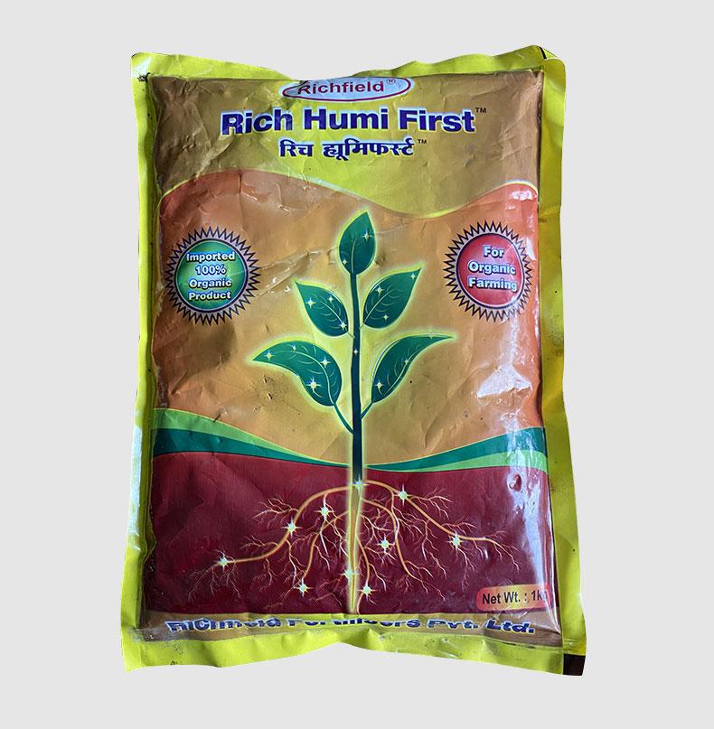 RICH HUMI FIRST- HUMIC ACID-GROWTH PROMOTORS