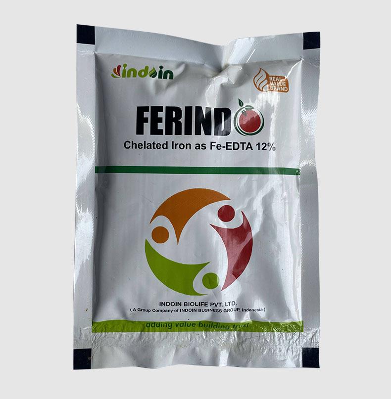 FERINDO (CHELATED IRON AS FE-EDTA12%) FERTILIZER