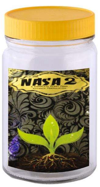 NASA 2 HUMIC SHINY BALLS(JAR)-BIO FERTILIZER